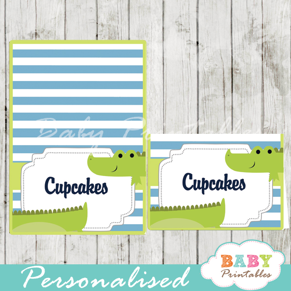 peppy crocodile printable food labels