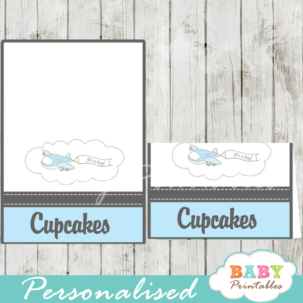 food tents baby printables