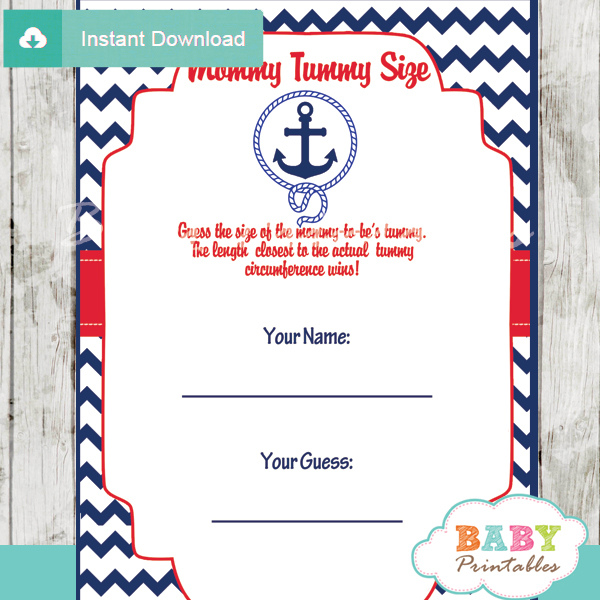 Nautical Baby Shower Decorations For Sale