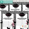 printable poodle paris shower games package