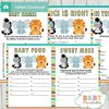 baby shower games jungle theme