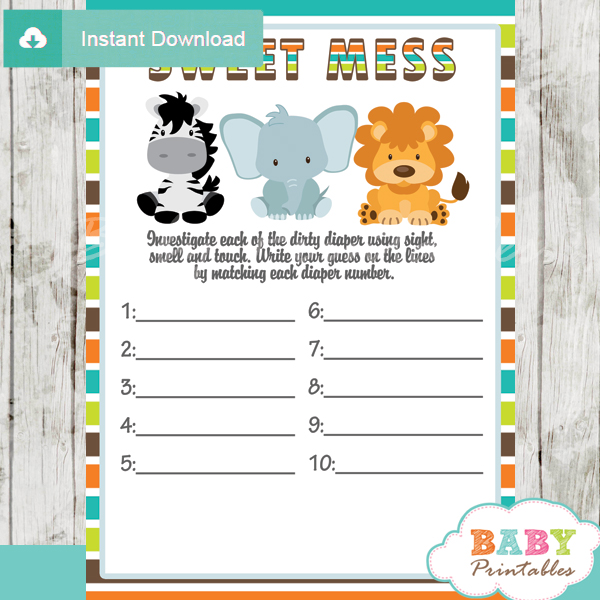 Printable Boy Baby Shower Invitations is awesome invitations design