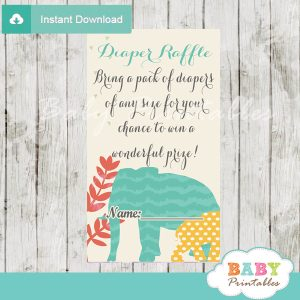 safari diaper baby shower games