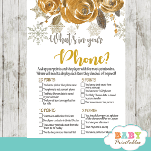 winter wonderland snowflake baby shower games winter wonderland olive bronze gold flowers watercolor gender neutral