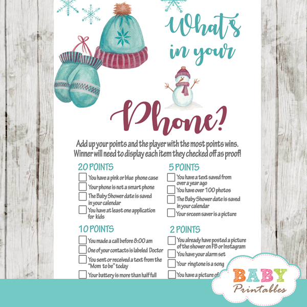 winter wonderland baby it's cold outside baby shower games vintage winter wonderland snowflakes boy turquoise burgundy gray