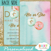 he or she gender reveal invitations donut theme pink or blue boy or girl ideas